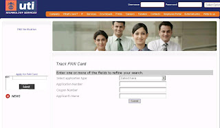 How to Check PAN Card Application Status at UTI website?