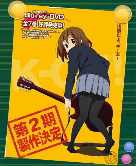 K-ON Season 2 Episode Guide, Wiki and Spoilers