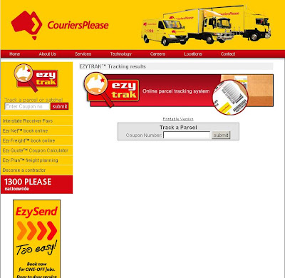 www.couriersplease.com.au - couriers please tracking parcel online