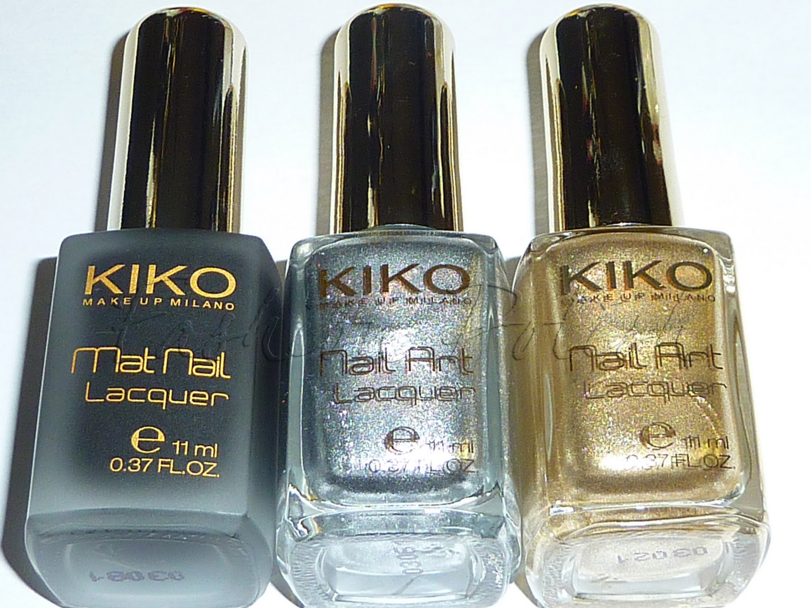 Fashion Polish: Gosh and Kiko Spam