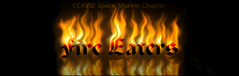 Fire Eaters Space Marine Chapter