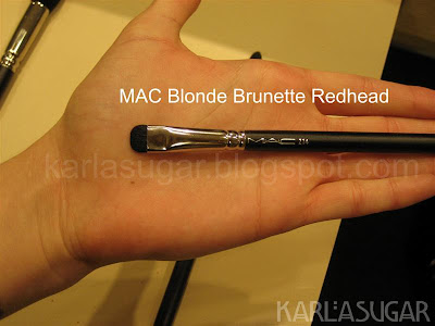 MAC, Style Black, 214, short shader, smudge brush