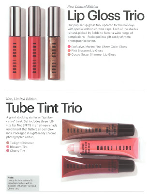 Bobbi Brown, holiday, Chrome, lipgloss, trio
