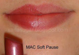 MAC, Soft Pause, swatches