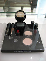Armani, holiday, 2009, Art Deco, Crystal Palette, display