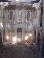 פנים בית הכנסת דר בישי כיום