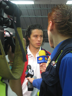Francisco Mendoza, Chivas USA, press