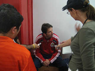 Preki, Chivas USA, press