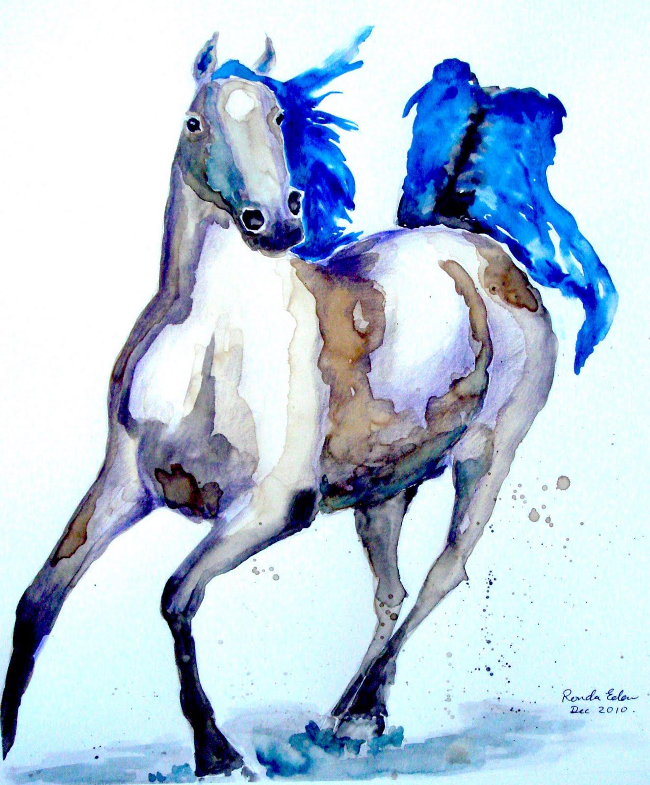 Cool   Wallpaper Horse Watercolor - DSC02500  HD_85837.JPG