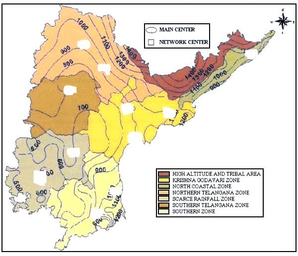 Similarity matrix november 2009 for Soil zones of india