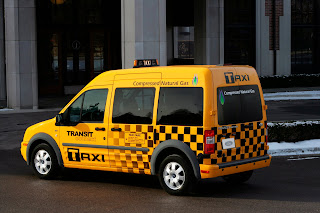 Ford Trasit Connect Taxi - Subcompact Culture