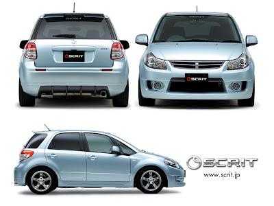Scrit Suzuki SX4 crossover Subcompact Culture