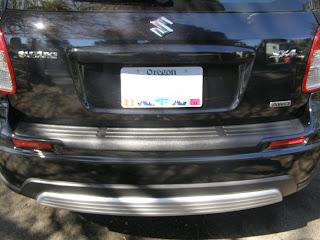 Suzuki SX4 Bumper Cover