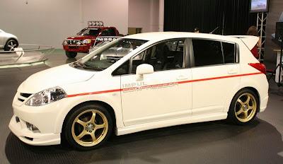 Nissan Versa at SEMA