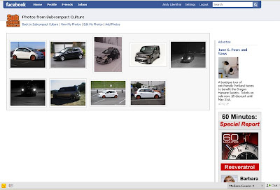 Subcompact Culture on Facebook