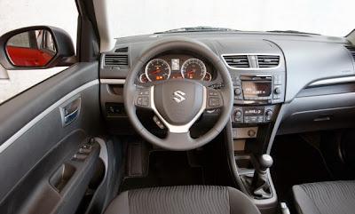 2011 Suzuki Swift interior