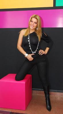 La guapa presentadora de televisión, Maricruz Ribera, llegó a ...