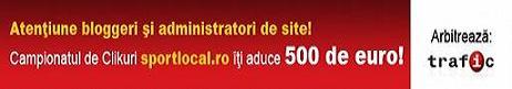 Ajuta cu un Click pe Logo la castigarea CAMPIONATULUI  DE CLICKURI