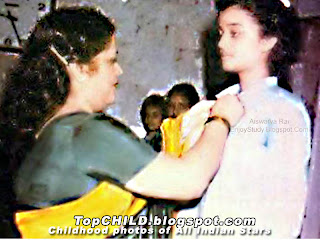 aishwarya rai getting award in her school