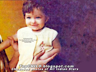 Aishwarya rai alias Aishwarya Bachchan childhood photo recently released