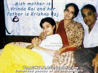 aishwarya rai  lying on the lap of her mom