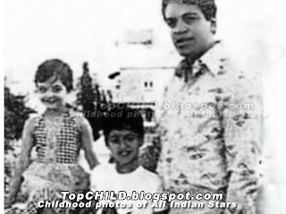 aishwarya rai  in her earlyhood in KG school days