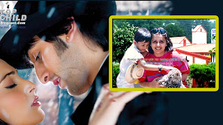 Ranbir kapoor school days  photo with his mother nitu singh