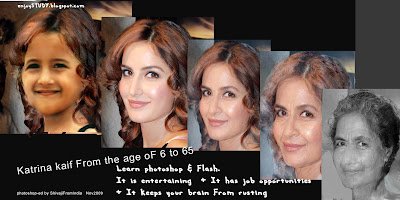 photo showing how katrina kaif will look like when she is very old