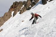 My snowboarding son