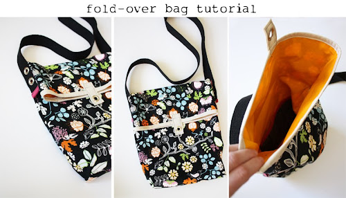fold over bag tutorial