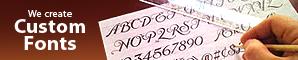 Design a custom font