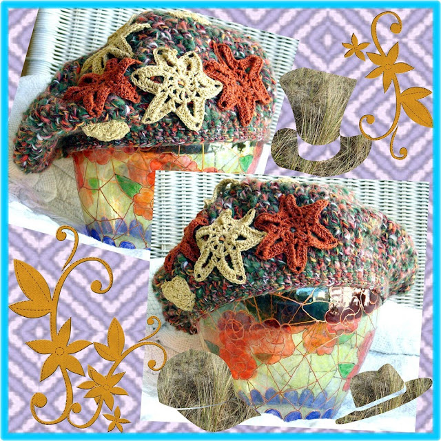 Crocheter Des Fleurs Pour Decorer Des Chausson De Nuit
