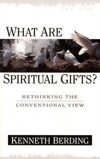 """thesis about spiritual gifts The class spiritual gifts includes a study on (1) a biblical survey of the nature and   the bestowal of spiritual gifts,"""" mdiv thesis, grace theological seminary."""