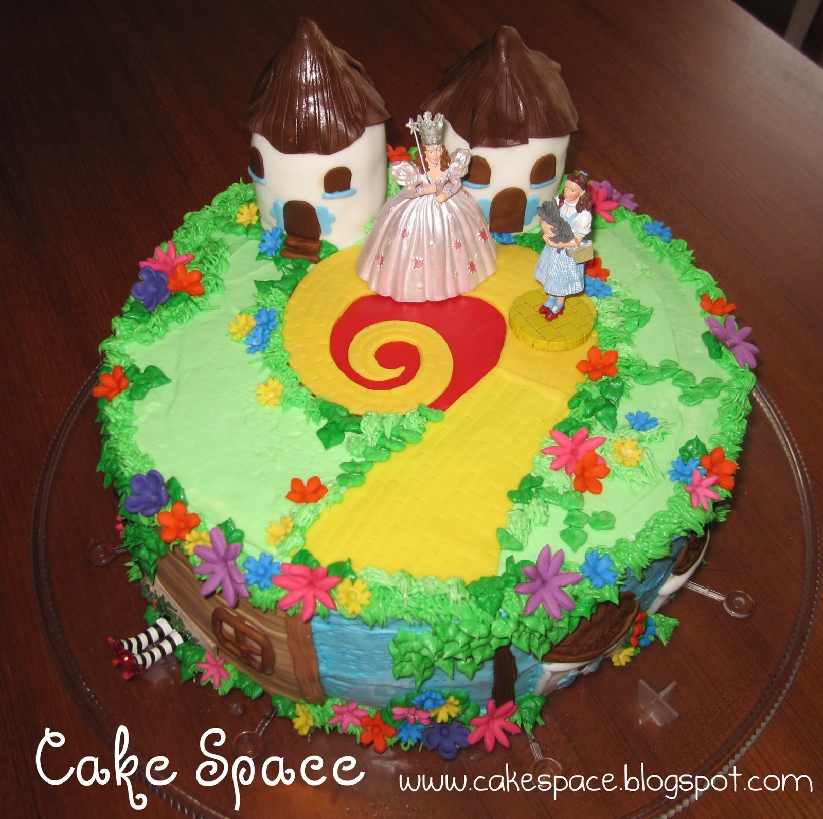 Food Recipes: Wizard of Oz Cake