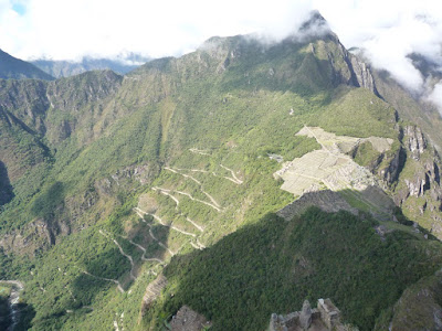 Machu Picchu view from Waynapicchu
