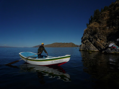 Backpacking at Lake Titicaca