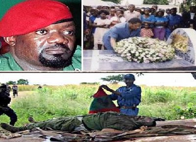 Angola: Savimbi's body will be exhume