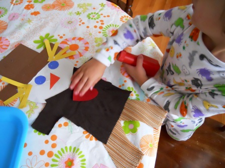 A Scarecrow's Heart, arts and crafts kids
