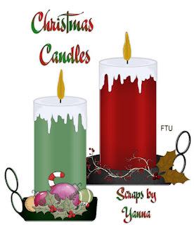 http://scrapbyyanna.blogspot.com/2009/11/christmas-candles-2009.html