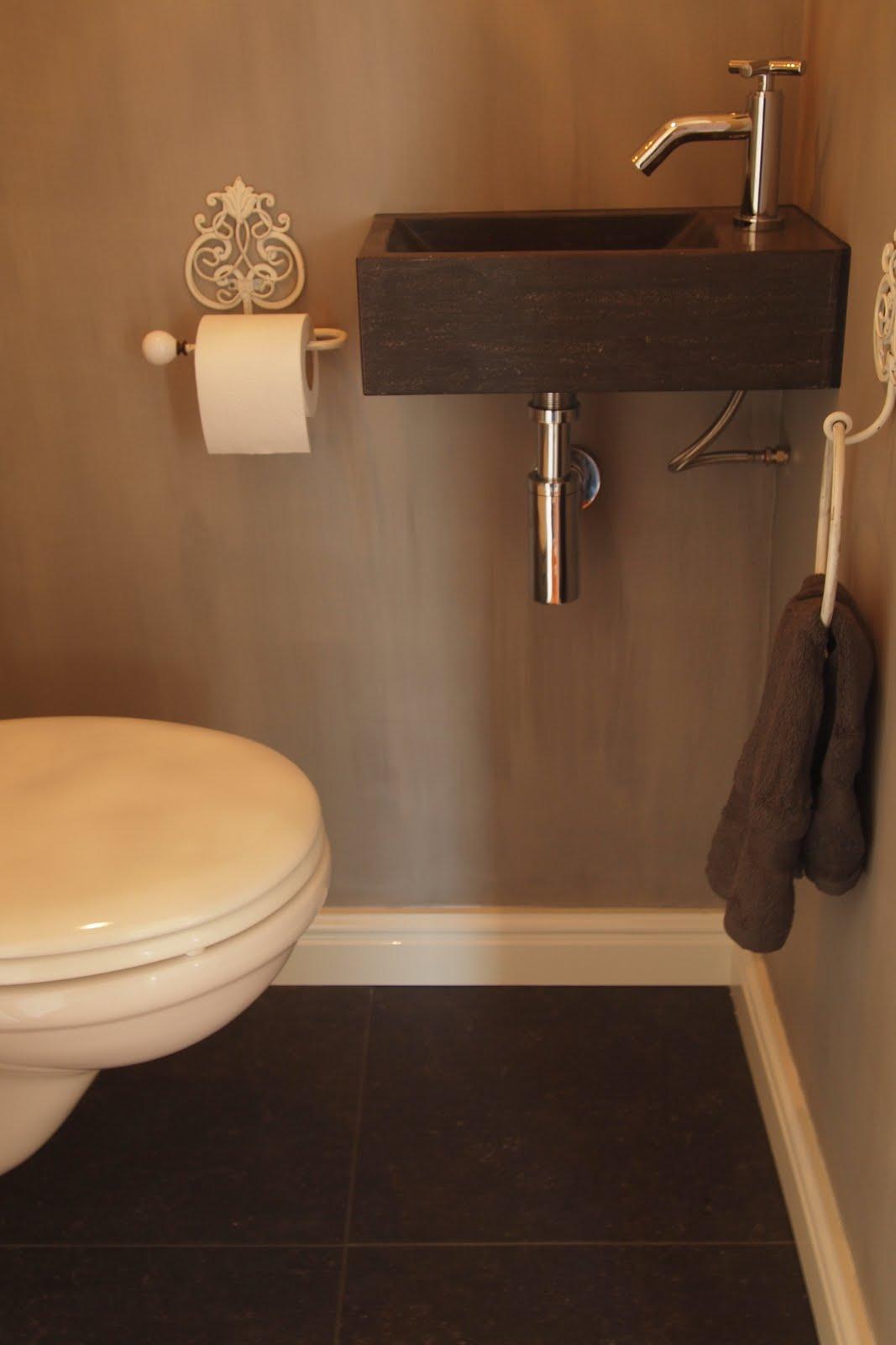 In ons huis vervolg - Deco in het toilet ...