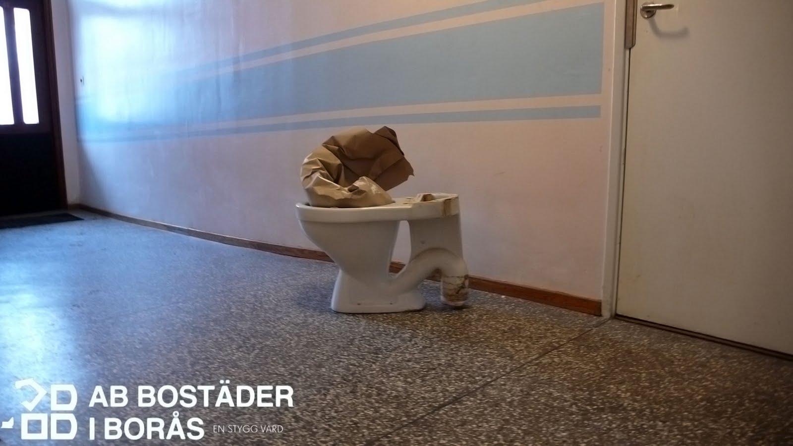 AB Bostäder i Borås Toalettstol
