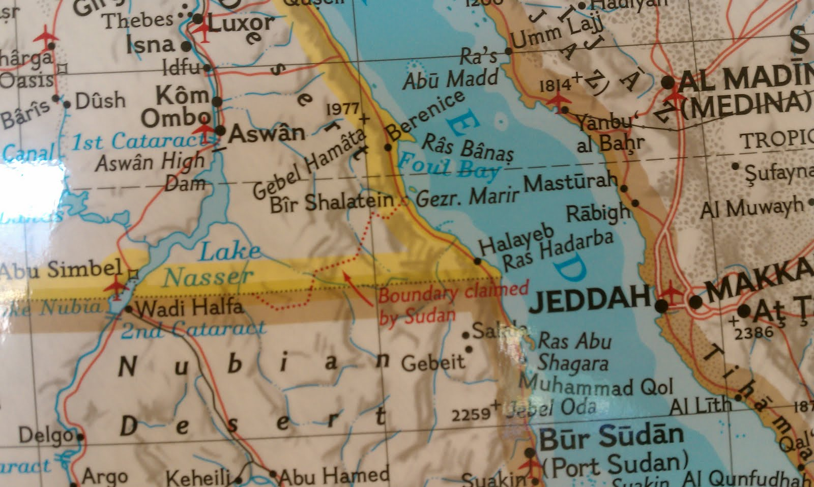 The Hala'ib Triangle and why National Geographic has it Wrong ...