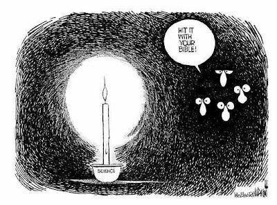 science as a candle in the dark
