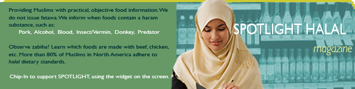SPOTLIGHT HALAL food info for Muslims
