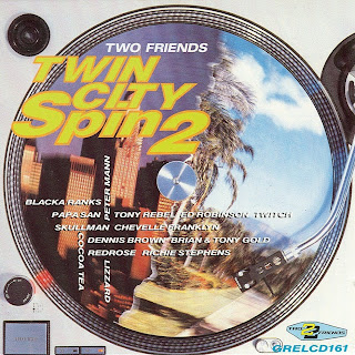Cover Album of Various Artists - Twin City Spin 2