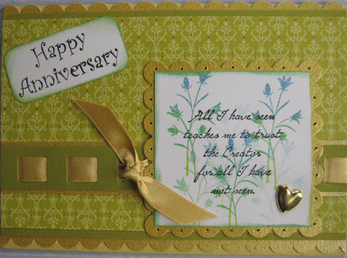 Denise s artwork crafts th wedding anniversary