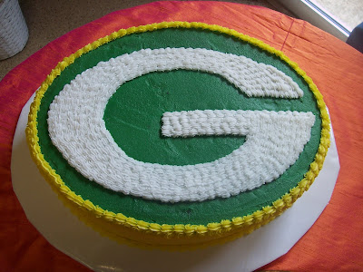 Jamie s Cakes: Getting Married to a Green Bay Fan