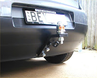 VW Golf tow bar with lug