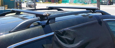 Mazda CX9 roof rails