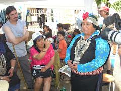 Elisa Avendaño Kurakeo y amigas visitó a Patricia Troncoso en Chillán